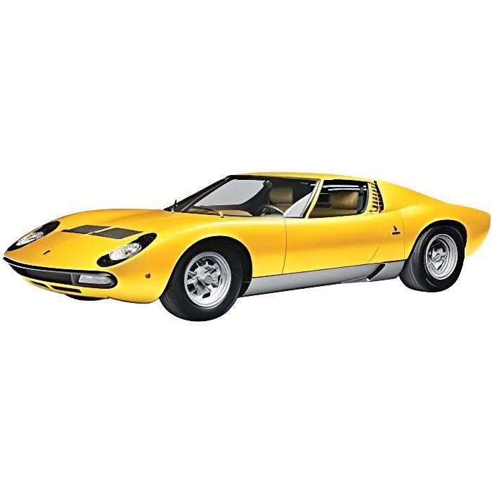 Maquette voiture : Lamborghini Miura 1:24 aille Unique Coloris Unique