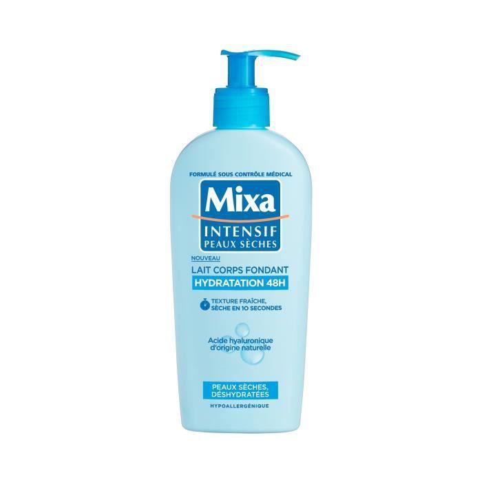 Mixa Intensif Peaux Sèches Lait Corps Fondant Hydratation 48H 250.0 ml