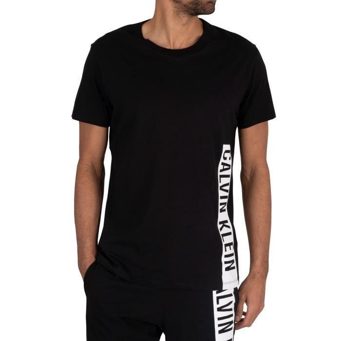 Calvin Klein T-shirt décontracté, Noir, Homme