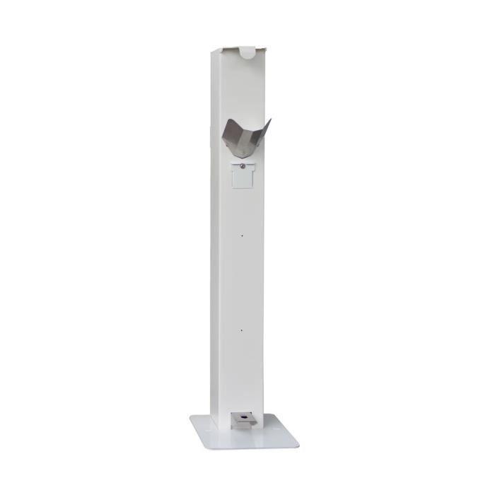 Distributeur de gel à pédale HOPLA GEL LX - Blanc - Protection Equipement