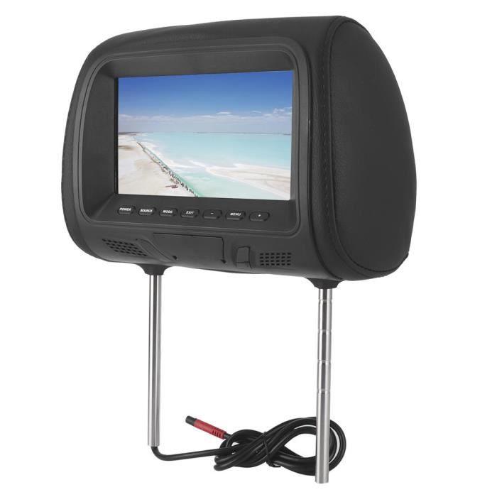YOSOO voiture MP5 Siège de voiture arrière MP5 lecteur multimédia moniteur DVD appui-tête écran LCD 7in Bluetooth Support