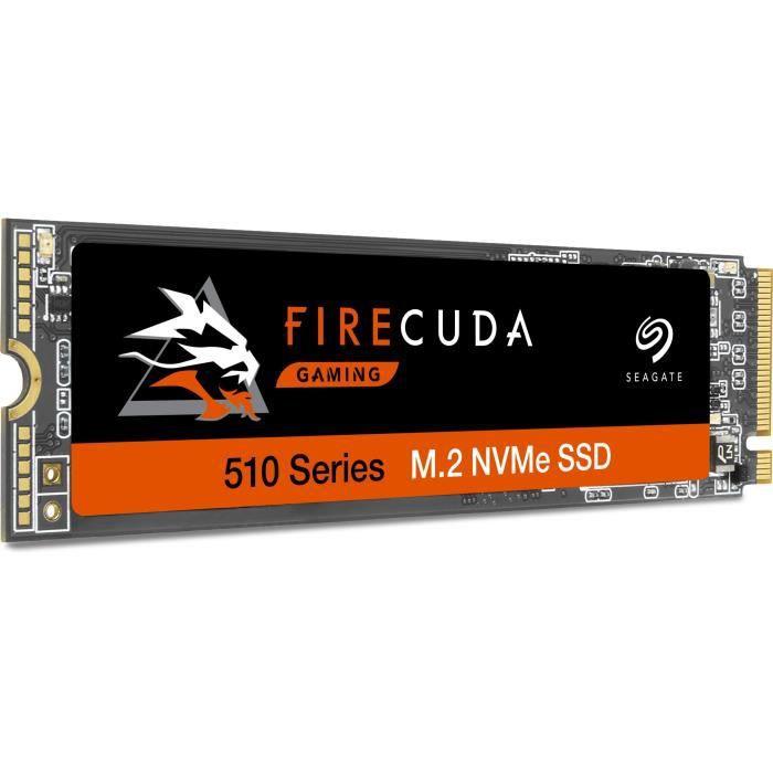 SEAGATE - SSD Interne - FireCuda 510 - 500Go - M.2 NVMe (ZP500GM3A021)