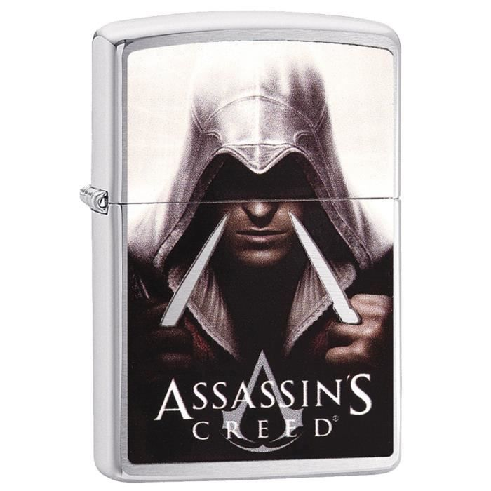 Zippo Assassin S Creed Acier Achat Vente Briquet Zippo