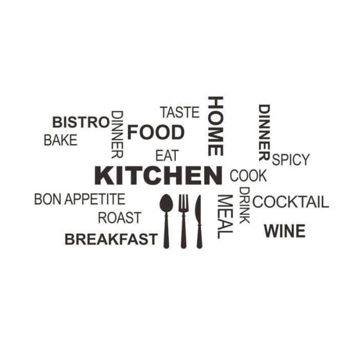 Kitchen decal stickers ref t-mk1247