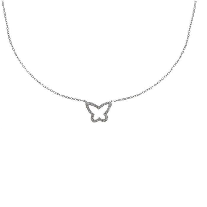 bijoux collier argent