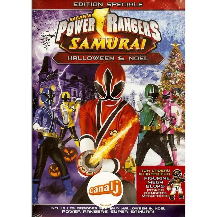 Dvd Power Rangers Samurai Edition Speciale Halloween Noel