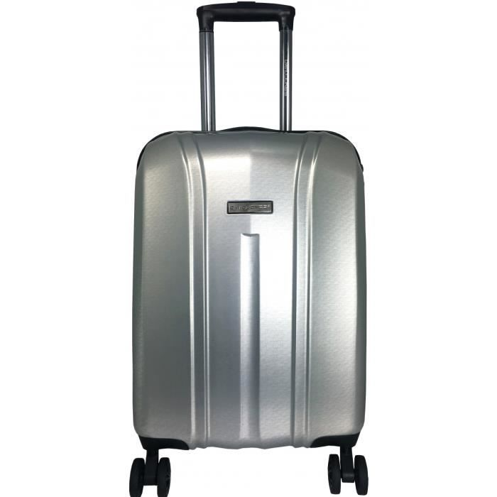 VALISE - BAGAGE Valise Cabine Rigide David Jones TSA ABS 55 cm GRI