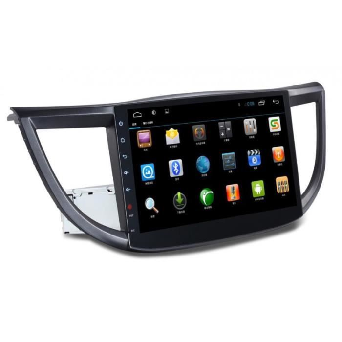 autoradio gps android ecran tactile 10 2 pouce pour honda crv 2012 2015 achat vente. Black Bedroom Furniture Sets. Home Design Ideas