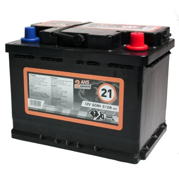 BATTERIE VÉHICULE XL PERFORM TOOLS Batterie XL21 510A 60Ah
