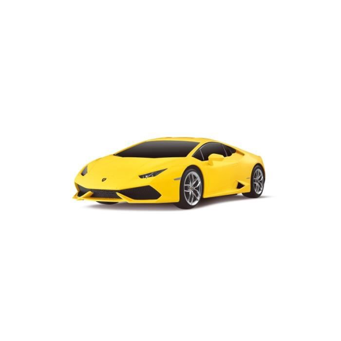 voiture rc lamborghini huracan lp610 4 jaune 1 24 achat vente voiture construire les. Black Bedroom Furniture Sets. Home Design Ideas
