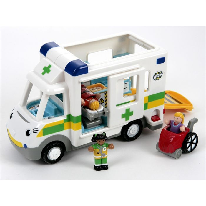 le camion ambulance wow toys achat vente voiture camion le camion ambulance wow toys. Black Bedroom Furniture Sets. Home Design Ideas