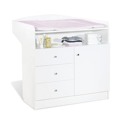 commode langer b b jil blanche blanc achat vente. Black Bedroom Furniture Sets. Home Design Ideas