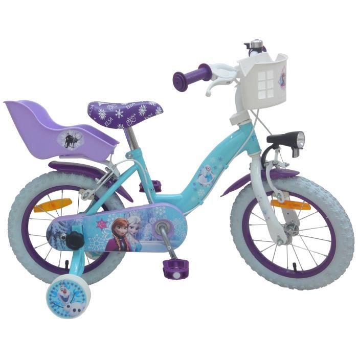 VÉLO ENFANT Vélo enfant 16' Reine des Neiges monovitesse cadre