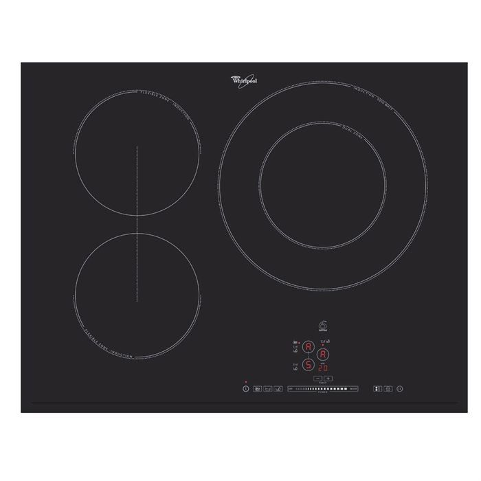 whirlpool acm749ne plaque de cuisson induction achat vente plaque induction cdiscount. Black Bedroom Furniture Sets. Home Design Ideas