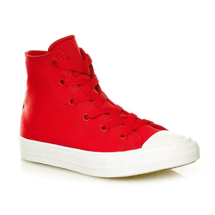 CHUCK TAYLOR ALL STAR II HI SALSA RED-WHITE-NAVY - Baskets montantes - rouge