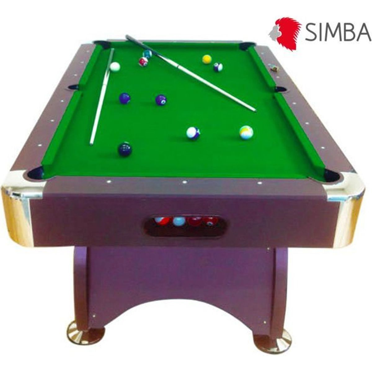table de billard 7 ft neuf billard am rican avec. Black Bedroom Furniture Sets. Home Design Ideas