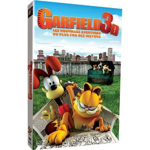 DVD DESSIN ANIMÉ DVD Garfield 3D