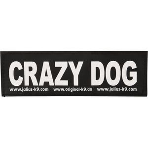 TRIXIE 2 Stickers Velcro Julius-K9 - S - Crazy dog - Pour chien