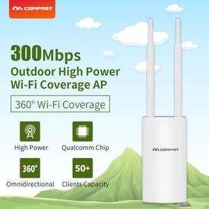 POINT D'ACCÈS COMFAST 300Mbps WiFi Router Extender Signal de rép