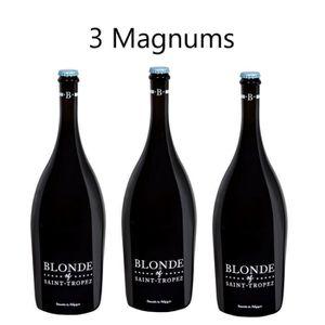 BIÈRE Lot de 3 Magnums Blonde of St Tropez 1,5L
