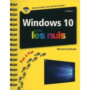 LIVRE TVCOMMUNICATION Livre - Windows 10 pour les nuls (3e édition)