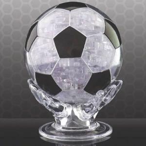PUZZLE Ballon de foot puzzle 3D -  Transparent Et Noir