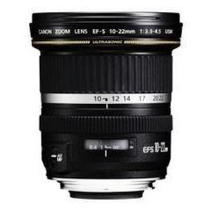 OBJECTIF Canon EF-S 10-22mm f/3.5-4.5 USM