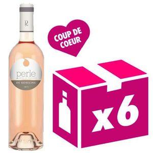 VIN ROSÉ Perle de Roseline vin rosé 6x75cl Roseline