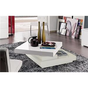 Table basse design scala - blanc - Achat   Vente table basse Table ... 335202878280