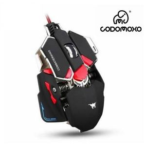 PACK CLAVIER - SOURIS codomoxo®   Combaterwing 10 Boutons 4 couleurs Sou