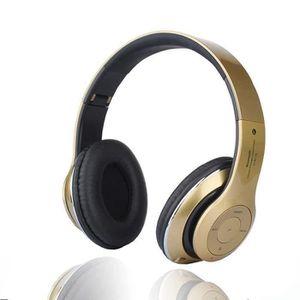 CASQUE - ÉCOUTEURS 4 EN 1 Multifonction Casque audio Bluetooth Sans F