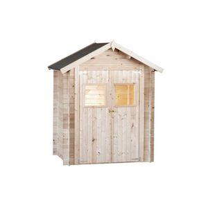 ABRI JARDIN - CHALET Abri de jardin en bois 19 mm - 200 x 200 cm - 4m²