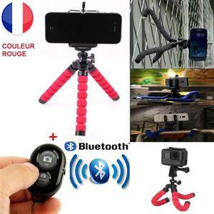 TRÉPIED Mini trépied Flexible avec Télécommande Bluetooth