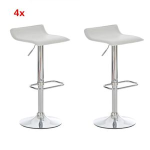 lot de 4 tabourets de bar achat vente lot de 4 tabourets de bar pas cher les soldes sur. Black Bedroom Furniture Sets. Home Design Ideas