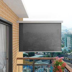 AUVENT - STORE Auvent latéral de balcon multifonctionnel 180 x 20