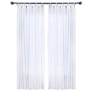 RIDEAU Rideau occultant à barre verticale en polyester Im