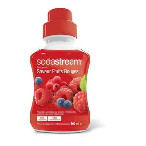 SIROP SODASTREAM 30078022 Concentré Fruits Rouges 500ml