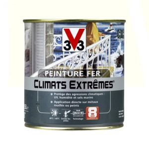 PEINTURE - VERNIS Peinture Fer Climats Extrêmes V33  (brillant - rou