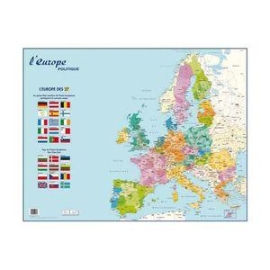 AFFICHE - POSTER Carte Europe Politique murale - Pelliculée format