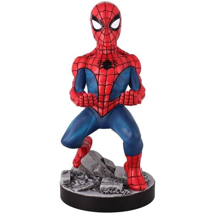 Figurine Spider-Man 2020 - Support & Chargeur pour Manette et Smartphone - Exquisite Gaming