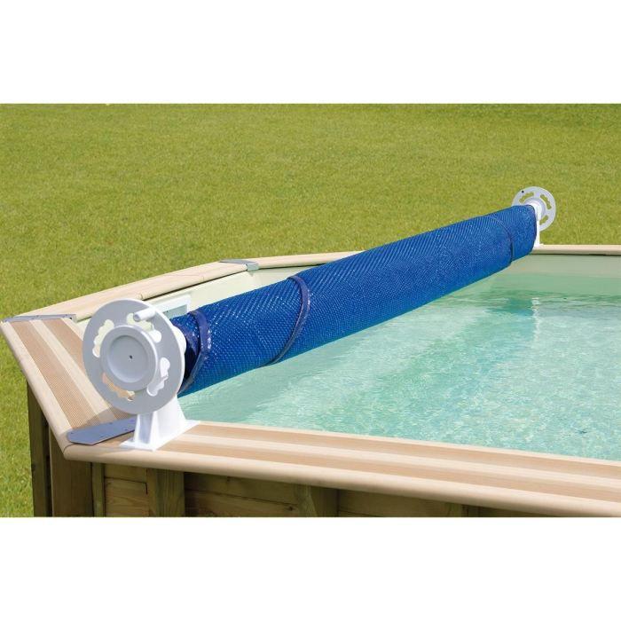 UBBINK Enrouleur de bâches de piscine luxe jusqu'à 6.5m de largeur