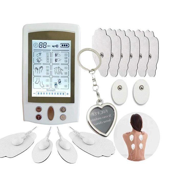 Électrostimulateur Ten Mini Appareil Tens Massage Electrode, pour Le Dos, Le Traitement du Cou