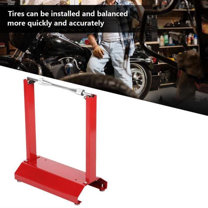 INGSHOP© Support de Maintenance, Support d'Équilibrage de Roue pour Moto