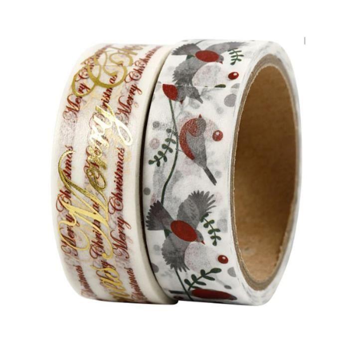 2 scotchs décoratifs 'Creativ Company' Vivi Gade Joyeux Noël 15 mm