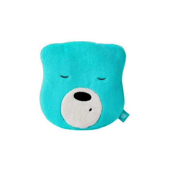 Aide au sommeil myHummy Mini menthe - Nounours à suspendre au lit - Doudou avec bruits blancs - Endormissement bébé