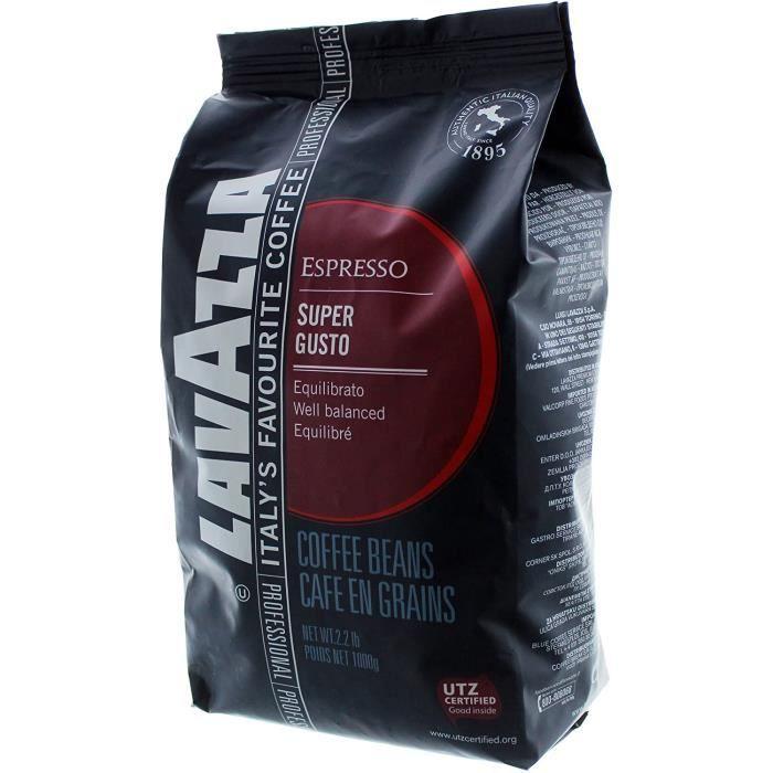Café en grains Lavazza Super Gusto (1kilo)
