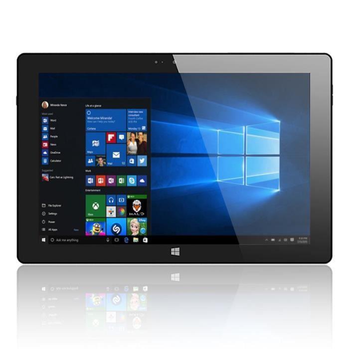 10 pouces de la tablette Pc Windows 10 2 Go de Ram 32 Go Rom Intel Z3735 4 coeurs de deux caméras 1280 * 800 Ips comprimés