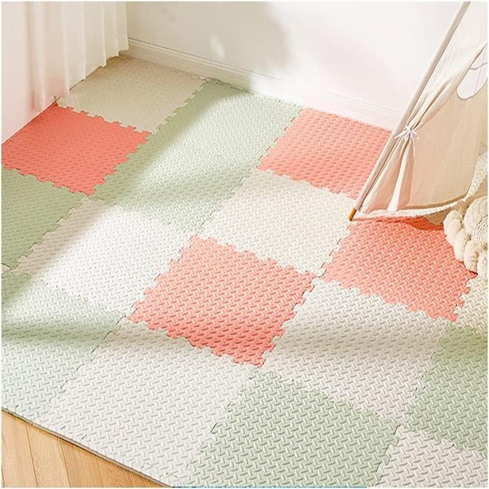 puzzle tapis mousse bébé, tapis mousse puzzle, tapis de sol jeux éducatifs pour la petite enfance tapis dalles en mousse multicolo