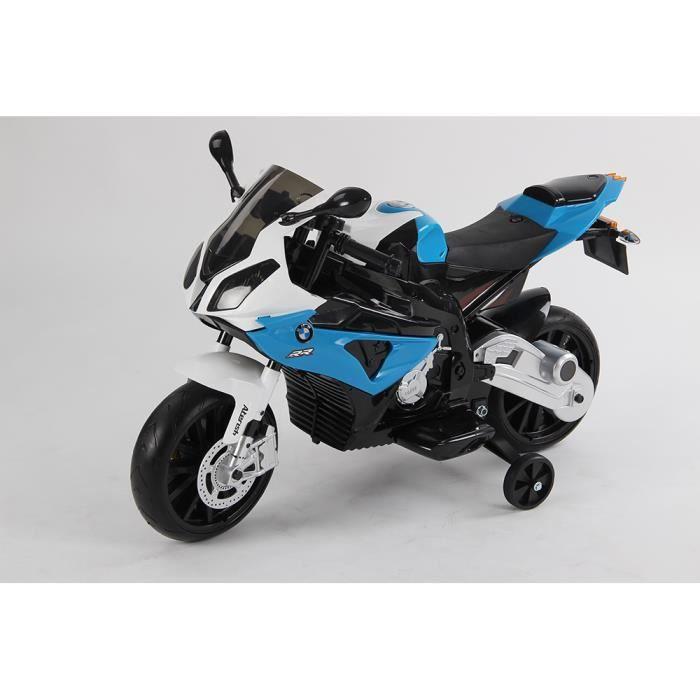 Mini moto électrique marque sportive BMW 12 volts