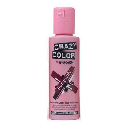 Crazy Color CRC026 Coloration Permanente Bordeaux - 100ml - 002251
